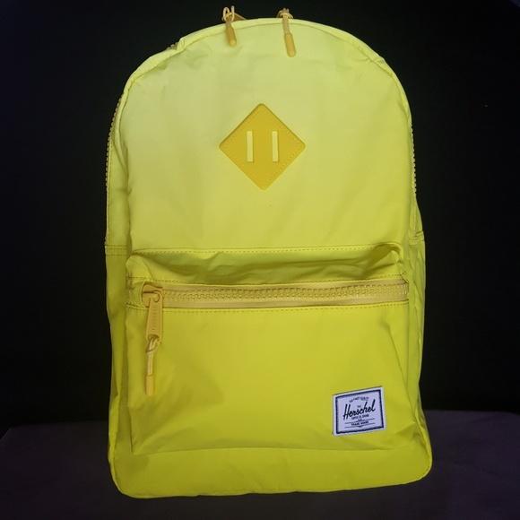 05a969b32b62 Herschel Supply Co. Heritage Kids Backpack - Neon